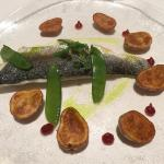Filet de Loup, Confit de Fenouil, Citron et Olive Sucs de Tomate