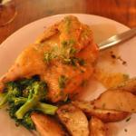 Tasty locally-raised chicken