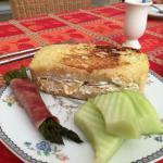 One of Nancy's breakfasts
