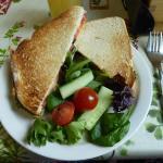 Big Fat Greek Sandwich - vegan