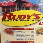 Rudy's Subs의 사진