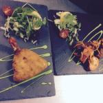 King prawn butterfly & mixed platter starters