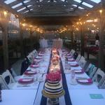 Private Dinner in the Garden Center