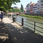 Le bord du canal.