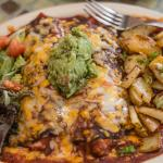 Blue Corn Cheese Enchilada