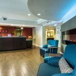 Lobby Front Desk at TownePlace Suites BWI Airport