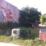 Woody Guthrie Statue & Murals