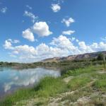 Fishing lake at Robb State Park, Fruita