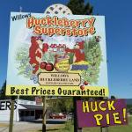Huckleberry Store next door