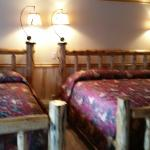 Two King beds in Cabin 12