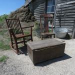 "Prairie Homestead ""front porch"""