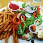 Andouille sandwich