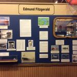 Beginning exibition of Edmund Fitzgerald Ship