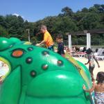 Kiddie pool slide