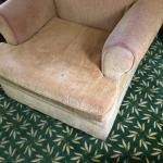 dirty chair