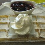 fresh made wafels, the real deal!