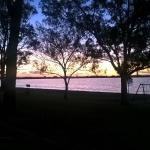 Sunset Lake Bonney