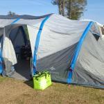 notre emplacement tente