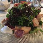 insalata con strisciole di tacchino grigliato