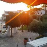 dalla camera vista piazza-mare