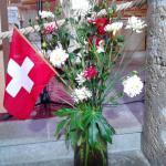 Müstair Kirche Schweizer Nationalfeiertag 1. August 2015