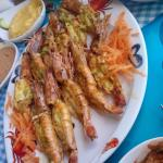 Shrimps  dish @ sea gull san stefano branch
