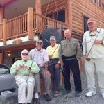 Our fishing group at York Creek