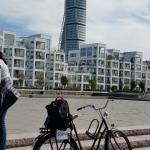 biking in Malmo....
