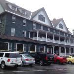 Adirondack Hotel - view from across street