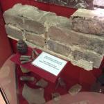 Часть стены Брестской крепости