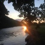 Sunset near Two Rivers Bridge
