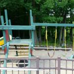 Playground already saw its better days..