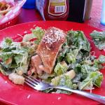 Salmon I Caesar lunch special