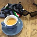 a quick espresso before work..