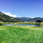 View from Golf Course towards canyon