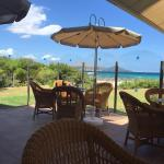 Die Bar am Strand