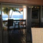 Reflected view from lanai