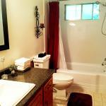 Clean & spacious bathroom