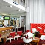 Red bar Catalina lobby