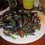 MASSIVE order of appetizer mussels