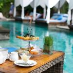 Afternoon Tea at RushBamboo Poolside Restaurant