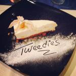 White Chocolate and Ginger Cheesecake, Tweedies Style!
