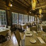 Russell's Fireside Dining Room at Lake McDonald Lodge