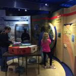 A small part of one of the exhibits
