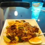 Pad Thai beef at Magic Noodle
