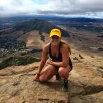 Top of Bishops Peak