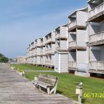 Island Motor Resort Deck
