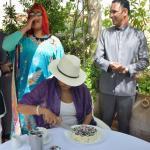 Birthday celebration.