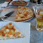 Miam! La pizza aux fruits de mer