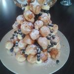 Baby Eclair tower